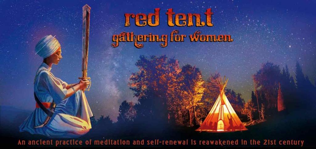 für Satya Kaur und das Frauen Team vom Red Tent